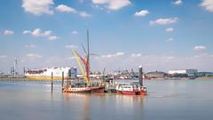 Gravesend ferry & Tilbury docks (Aliy) Tags: gravesend ferry tilbury dock docks dockyard thames river barge water kent boat boats