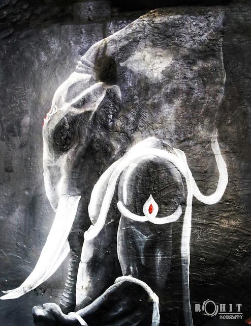 Painting of ganesh
