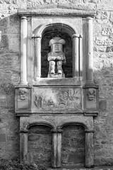 Ceres, Fife  2014-08-04   -3 (Gordon16854) Tags: 2014 art ceres fife places scotland doorway sculpture