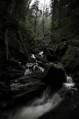 Puck's Fall Wide (Russell-Davies) Tags: ravine cowal argyll lochlomond pucksglen uk scotland highlands canon 6dmkii
