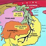 Vietnam War 1970 --- Map of the Ho Chi Minh Trail - Đường mòn HCM thumbnail