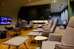 Relaxing lounge chairs with legrest (A. Wee) Tags: austrianairlines austria vienna airport lounge 奥地利 奥地利航空 vie 机场 维也纳