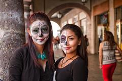 Catrinas (wegstudio) Tags: morelia mexico city diadelosmuertos cultura celebration celebración skull catrina