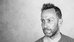 Self (#Weybridge Photographer) Tags: adobe lightroom canon eos dslr slr 5d mk ii monochrome man self selfie me studio beard portrait