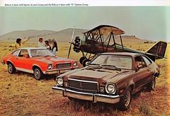 1977 Mercury Bobcat 3-Door (aldenjewell) Tags: 1977 mercury bobcat 3door sports accent s option group brochure