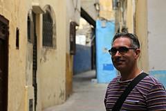 Medina de Tanger (daniel.virella) Tags: tanger morocco arch alley medina blue notaselfie byzé picmonkey