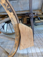 ABS ...? (Anke knipst) Tags: meldorf museum germany bremse holz wood brake