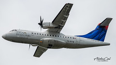 TACA Regional ATR42 TG-RYM (aleks_cal) Tags: atr atr42 avion airplane takeoff sanjose costarica aviation regional centroamerica