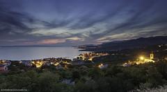 View from Klenovica Croatia