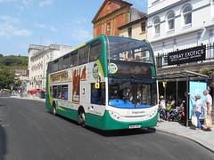 Stagecoach South West 15861 (Welsh Bus 18) Tags: stagecoach southwest scania n230ud adl enviro400 15861 wa62akv torquay fleetstreet h4729f hop22