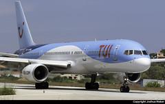 TUI Airways Boeing 757-236 G-OOBG @ Skiathos Airport (LGSK/JSI) (Joshua_Risker) Tags: skiathos airport lgsk jsi greece greek island tui airways thomson boeing 757 757200 goobg