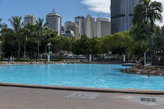 brisbane southbank (Greg Rohan) Tags: swimmers swimming people brisbanecity city blue trees rocks buildings building pool water australia southbank brisbane queensland qld d750 2018 nikon nikkor