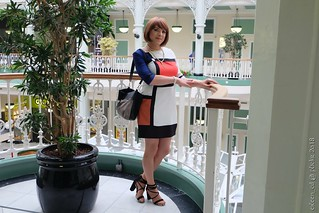 Colour block dress 2