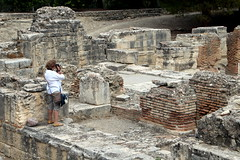 Photographing The Ruins (Alan1954) Tags: roman gortys ruins holiday 2017 plakias