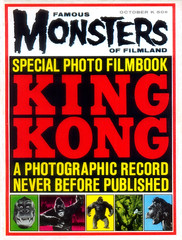 Famous Monsters of Filmland #25 (1963) (gameraboy) Tags: vintage famousmonsters cover magazine magazinecover famousmonstersoffilmland 25 1963 1960s kingkong
