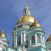 Moscow, the Epiphany Cathedral at Yelokhovo (1845), Basmanny district.