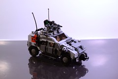 "MRAP ""Lynx""---view 1 (TierMR) Tags: war guns mine resitant ambush protected vehicle armored personel patrol outside spanish"