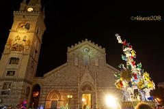 La Vara.. Il Duomo.. (rikkuccio) Tags: duomo messina sicily vara mezzagosto sicilia festa chiesa flickrsicilia rikkuccio