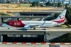 "[ORY] TUI Fly Belgium ""RIU Hotels & Resorts Livery"" Boeing 737-8K5 _  OO-JPT (thibou1) Tags: thierrybourgain ory lfpo orly spotting aircraft airplane nikon d810 tamron sigma riuhotelsresortslivery tuiflybelgium boeing boeing737 b737 b737800 b738 b7378k5 taxiing oojpt"