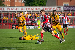 Altrincham FC vs Boston United - August 2018-136 (MichaelRipleyPhotography) Tags: altrincham altrinchamfc altrinchamfootballclub alty ball bostonunited community fans football footy goal header jdavidsonstadium kick mosslane nationalleaguenorth nonleague pass pitch preseason referee robins salfordcity save score semiprofessional shot soccer stadium supporters tackle team vanarama