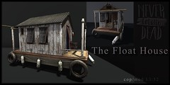 The Float House  NTD Exclusive (Bluesean Yiyuan) Tags: nevertotallydead never dead secondlife cosmopolitan event exclusive floathouse bloggers swamp river fishing house shettler shack avatar home decoration landscaping landscape