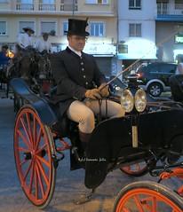 Cochero- Feria de Málaga 2018. Andalucía. (lameato feliz) Tags: málaga cochero