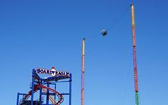 OMG! (SomePhotosTakenByMe) Tags: soarineagle rollercoaster achterbahn amusementride fahrgeschäft urlaub vacation holiday usa america amerika unitedstates newyork nyc newyorkcity newyorkstate stadt city coneyisland brooklyn outdoor lunapark amusementpark freizeitpark