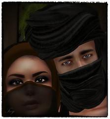 Arabian Night (ToySoldierThor) Tags: secondlife arab arabian selfie