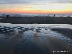 Noir couchant (JEAN PAUL TALIMI) Tags: jeanpaultalimi talimi biscarrosse aquitaine dune vague sable sudouest silouettes soleilcouchant landes france mer nature reflets