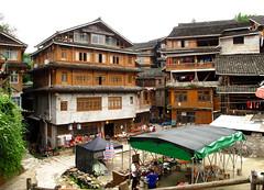 Chengyang village (rvandermaar) Tags: chengyang village guangxi china rvdm