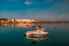 Boats... (hobbit68) Tags: boote boot wasser water fujifilm xt2 himmel sky wolken clouds atlantik hafen port puerto spain  spanien espana espagne espanol andalucia andalusien sommer summer sunshine sun sonne holiday urlaub