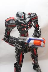 MM-03 (LemonBeater) Tags: lego mech scifi robot nerf