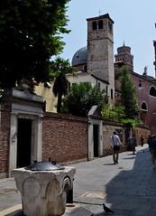Au hasard du quartier, Santa Croce, Venise, Vénétie, Italie.