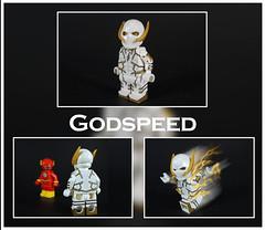 Godspeed (-Metarix-) Tags: lego super hero minifig dc comics comic godspeed flash custom brothersfigure antihero villain rebirth universe speedforce storm speed clone duplicate august heart