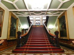 Town House Interior, Inverness, Aug 2018 (allanmaciver) Tags: town house inverness scotland highlands city grande entrance staircase style architecture allanmaciver