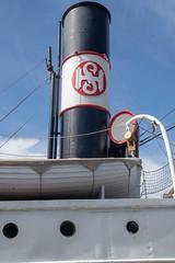 Schornstein (krieger_horst) Tags: bergen norwegen dampfschiff schiffe schornstein