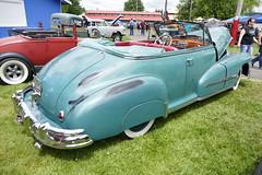 1948 Pontiac (bballchico) Tags: 1948 pontiac silverstreak8 torpedo convertible ralphoquist billetproof carshow