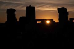 Mid Summer Solstice Sunrise (Dave Cool Britannia) Tags: sunrise stonehenge stone sun
