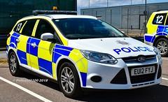 Essex Police Ford Focus EU12 FYJ (policest1100) Tags: essex police ford focus eu12 fyj stansted airport 13