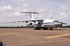 Ukrainian AF Il-76 (joolsgriff) Tags: ilyushin il76md 78820 ukrainianairforce riat 2018 riat2018 royalinternationalairtattoo raffairford