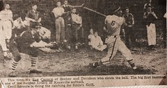 Baseball Eddie's Grill (Bob Cannon) Tags: raycannon knoxville tennessee baseball eddiesgro eddies grill longest home run 1946