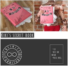 INFINITE - Secret Book @ PocketShop! (Divine Falodir (Infinite)) Tags: sassy furniture second life futon mesh couch lip secret free debut pocketshop skybox tasty mean girls beyonce other fabulous things