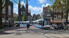 Laatste Dagen (Peter ( phonepics only) Eijkman) Tags: amsterdam city combino gvb tram transport trams tramtracks trolley rail rails streetcars strassenbahn nederland netherlands nederlandse noordholland holland