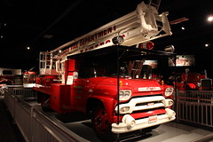 1958 GMC/Pitman Manufacturing Snorkel Truck No. 1 (rocbolt) Tags: gmc pitmanmanufacturingcompany chicago chicagofiredepartment snorkel snorkelfireequipmentcompany cfd snorkelfiretruck northcharlestonamericanlafrancefiremuseum firefighting fire firedepartment firemuseum museum charleston southcarolina charlestonsouthcarolina firefighter firetruck