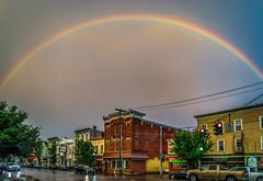 Somewhere Over (Jeffrey Friedkin) Tags: jeffreyfriedkinphotography saugerties woodstock rainbow newyorkstate