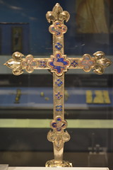 London, England, UK - British Museum - Processional Cross, Hungary, c 1330 (jrozwado) Tags: europe uk unitedkingdom england london museum britishmuseum history culture anthropology cross