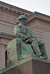 JV Snellman at the Bank of Finland (JohntheFinn) Tags: helsinki finland europe statue architecture
