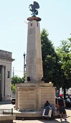 Eagle Monument (Brule Laker) Tags: chicago illinois pilsen caf chicagoarchitecturefoundation walkpilsen