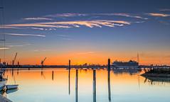 Steaming In (nicklucas2) Tags: port docks southampton magazinelane ship boat yacht cruiseship reflection water