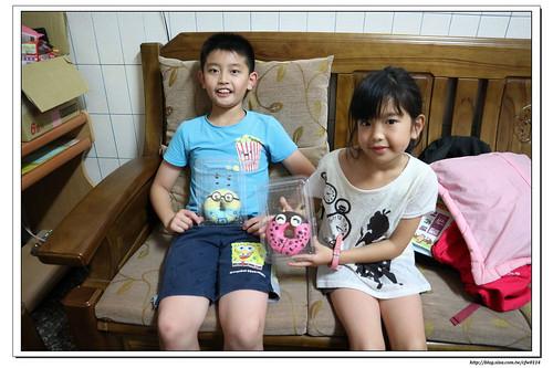【寶貝‧甜甜圈】家樂福林口店。彩繪造型甜甜圈